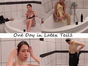 VanessaKeen – One Day in Latex Teil 1