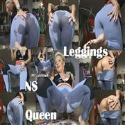 Sachsenlady – NS-LEGGINGS-PISS-Queen,,,